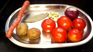 image of ingredients for tomato soup