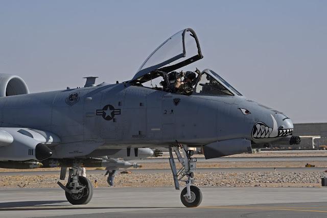 USAF A-10 deployment Afghanistan Taliban