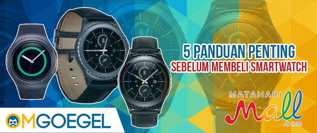 smartwatch Samsung bergaransi resmi