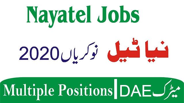 Naya Tel Fiber Network Jobs 2020 Apply Now