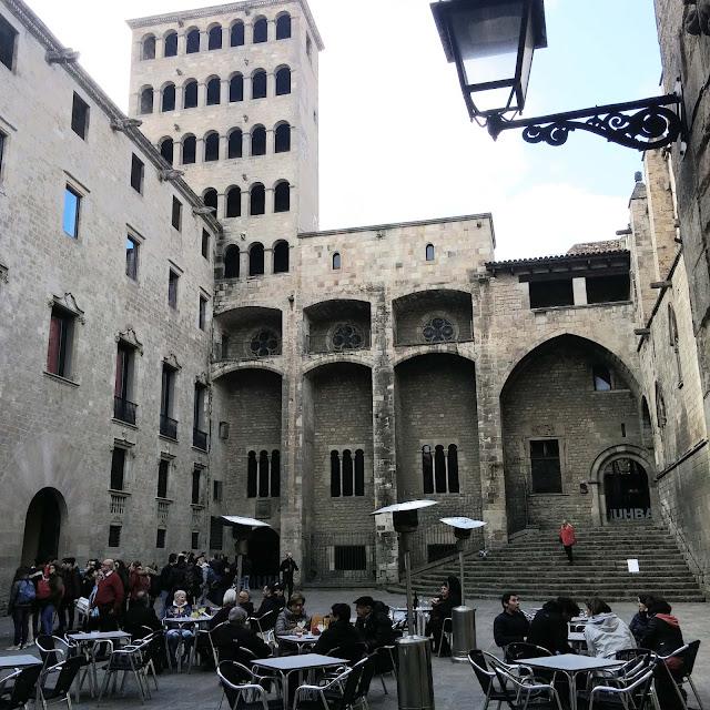 La-Placa-del-Rei,barcelone,blog,madame-gin,quartier-gothique-barcelone