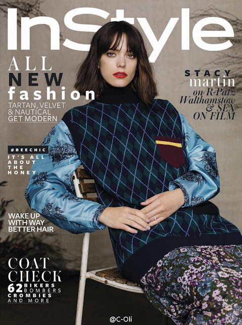 Actress, @ Stacy Martin - InStyle UK September 2016