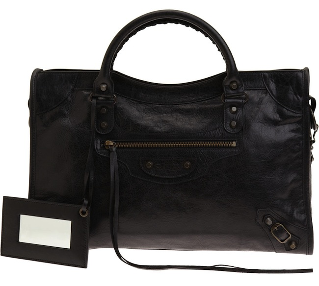 969419668a I got my City in 2009 directly from Balenciaga NY, and have used it pretty  regularly since. The bag started out looking a deep true black like below: