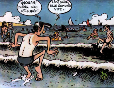 Lucien à la mer