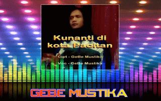 Lirik Lagu Kunanti Di Kota Pacitan - GeBe Mustika