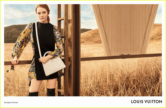 745eb2f65a6b The first Louis Vuitton campaign featuring Emma Stone showcases the actress  wearing pieces from the Prefall 2018 collection and embodying a heroine who  is ...