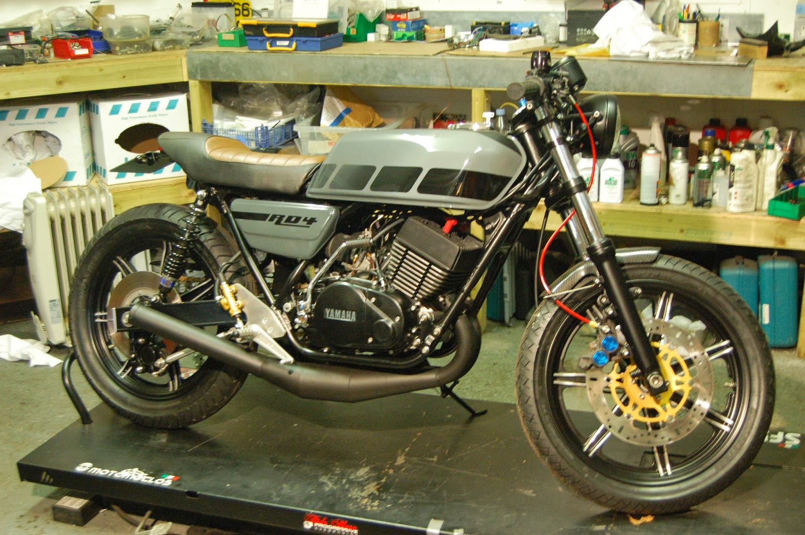 European Motorcycle Diaries: RD4 Stroker comes home - Yamaha