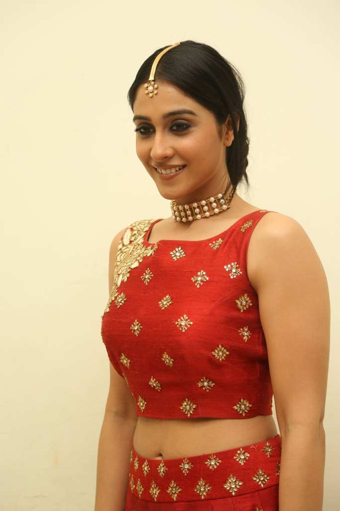 Hot Actress Regina Cassandra Photos In Red Dress