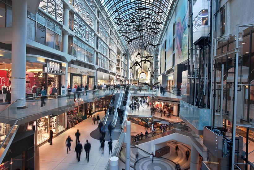 how to go to eaton centre