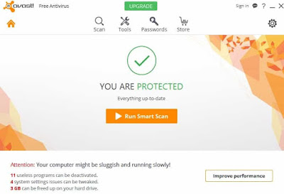 Avast Free Antivirus 2017 Features and Review