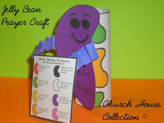 Church house collection blog jelly bean prayer toilet for Kids crafts for church