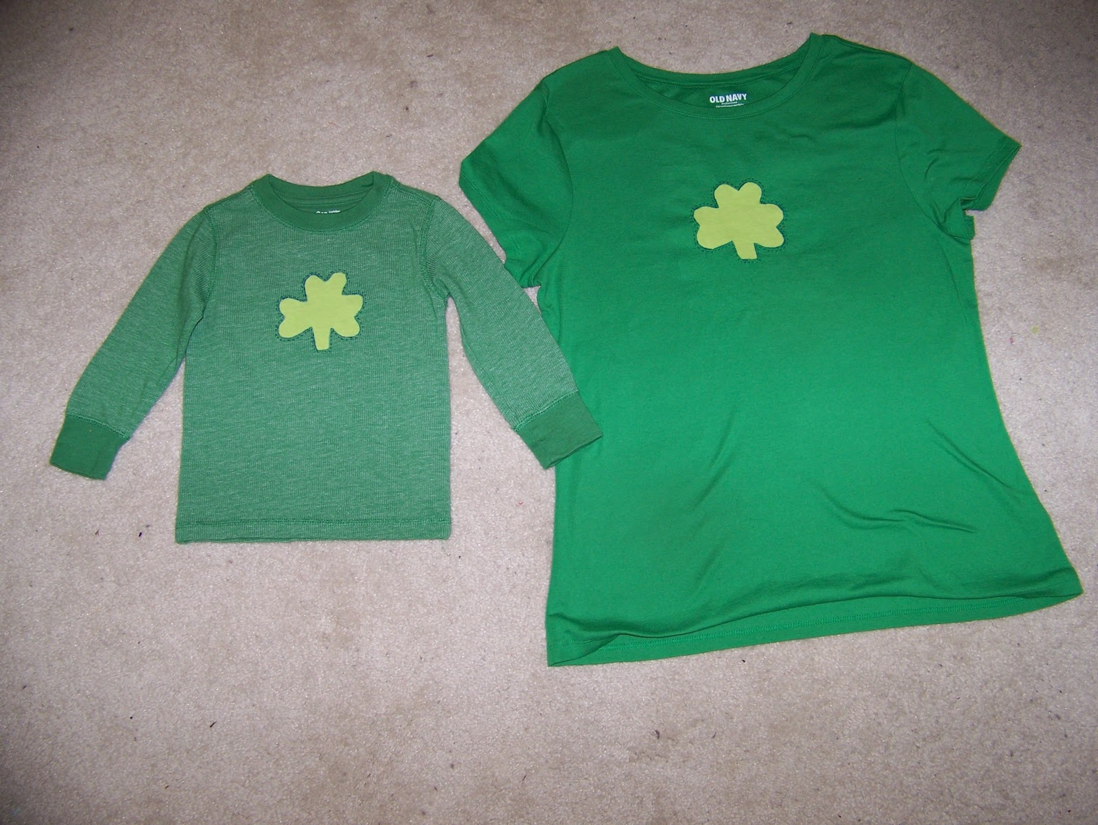 26ca7f044 Making Cooley Stuff: St. Patrick's Day Shirts