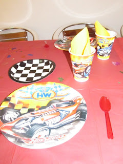 DECORACION HOT WHEELS FIESTAS INFANTILES