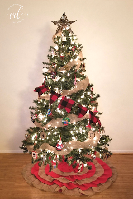 How I Added Buffalo Plaid To My Christmas Decor The