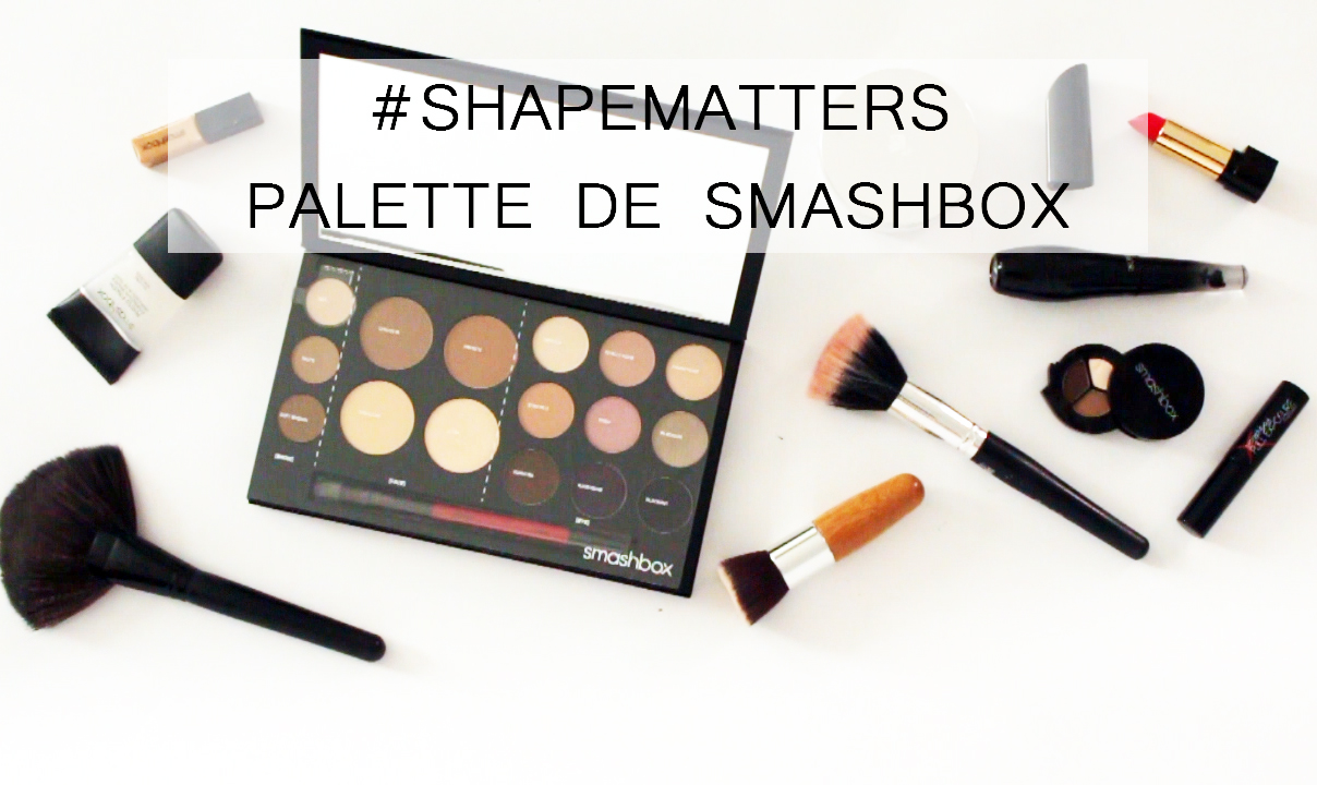 shapematters palette smashbox, contouring, alina a la mode, alinamodeblog, youtuber colombia, beauty guru