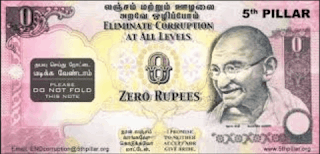 Interesting facts about the Indian zero rupee note