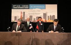 Foton Motor firmó cooperación con Cummins en el Foro de Eficiencia Energética de EEUU