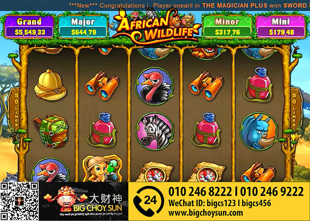 African Wildlife slot
