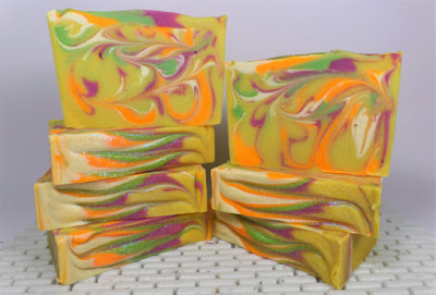 hand made luxury cocoa butter & goatsmilk soap for Mother's Day