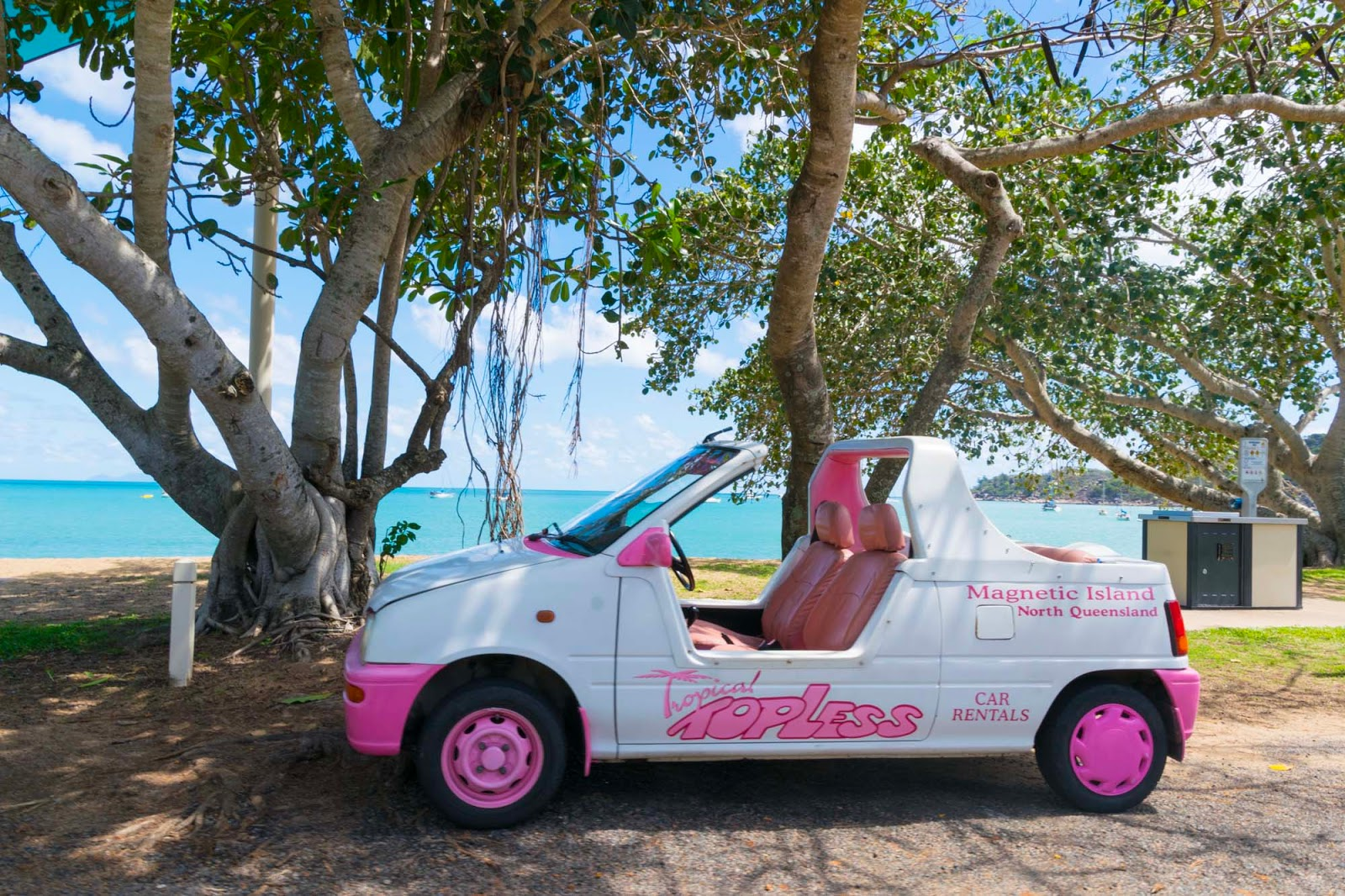 barbie car magnetic island