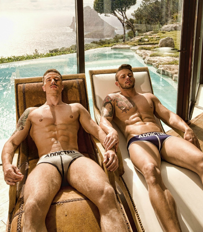 Dmitry Strigun and Bruno Rodriguez • Male Models