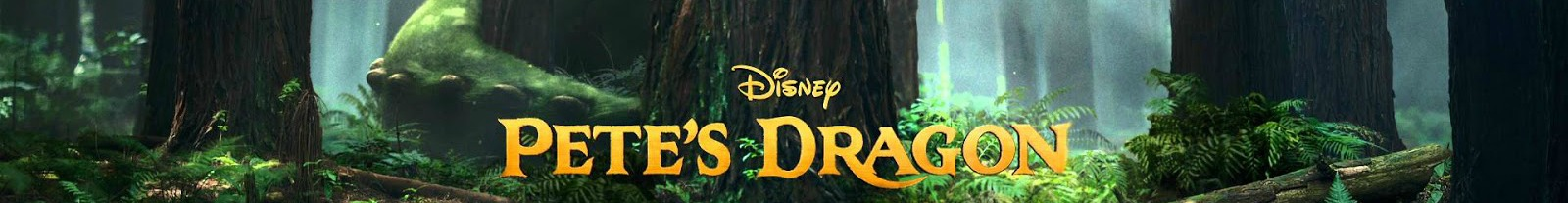 pete's dragon film banner