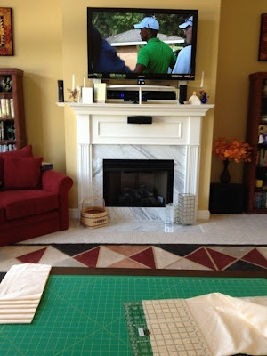 A Quilt and A Prayer: Quilting and Tiger