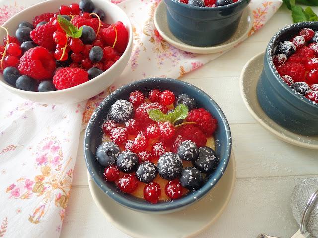 Bezglutenowe mini serniczki z jogurtem greckim (Mini cheesecake con yogurt greco, senza glutine)