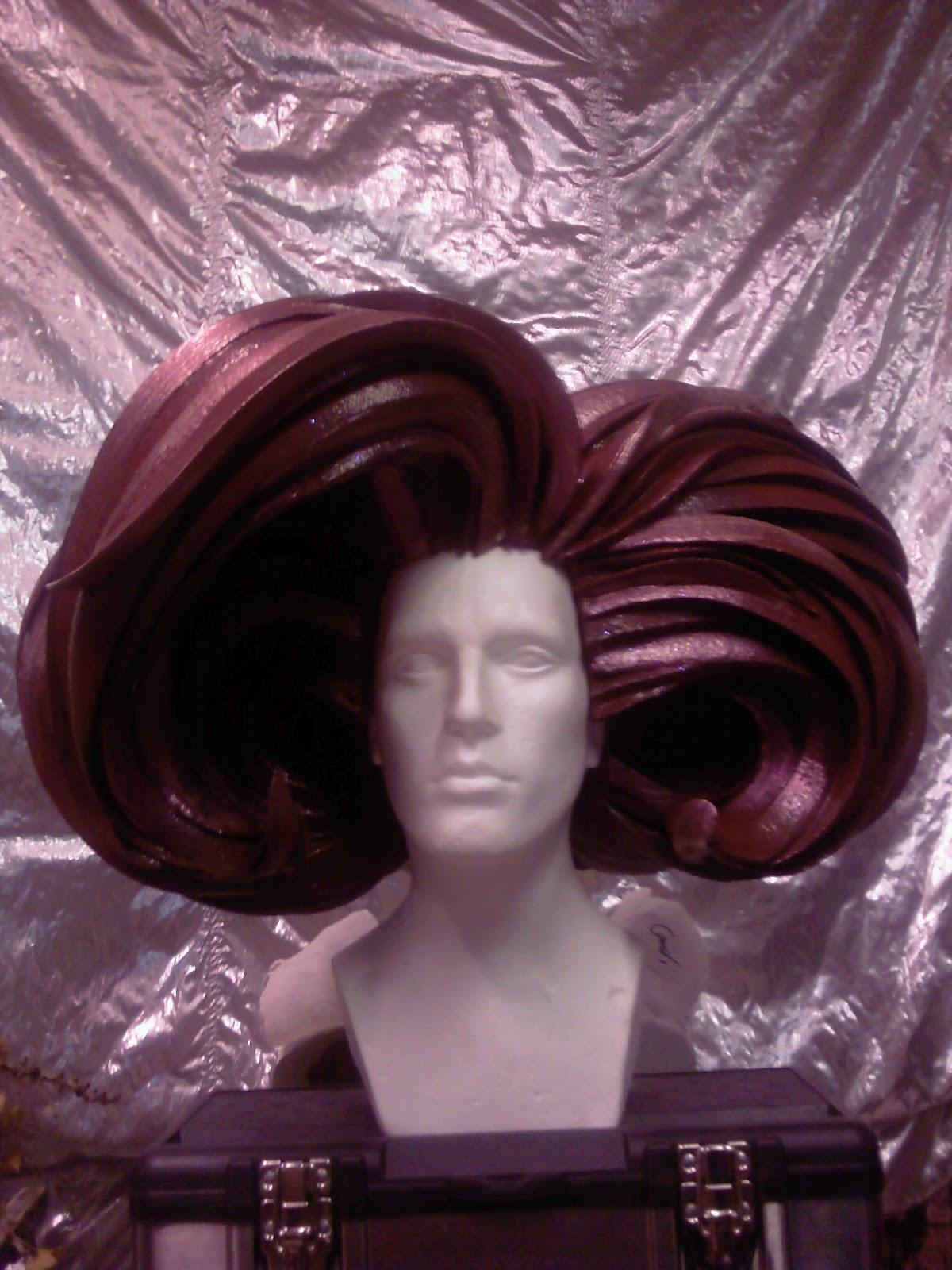 Foam Costume Wigs   (I Had To Cut Apart My Foam Swim Cap A Lot To ... 345db6f92