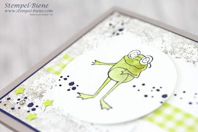 Geldgeschenkskarte; einfache Geschenkkarte basteln; Stampinup; Froschkönig; Wunscherfüller; Instragramhop; Instahop; Team Stempel-Biene; Stampinup basteln; Stempel-Biene