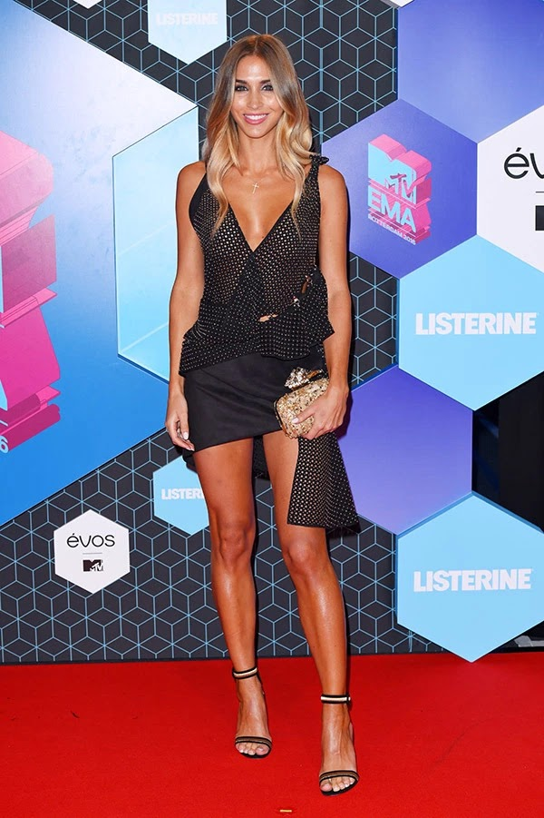 Ann-Kathrin Broemmel attends the MTV