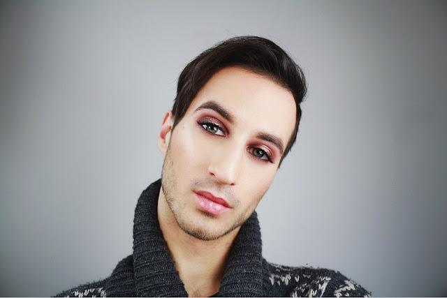 makijaż męski