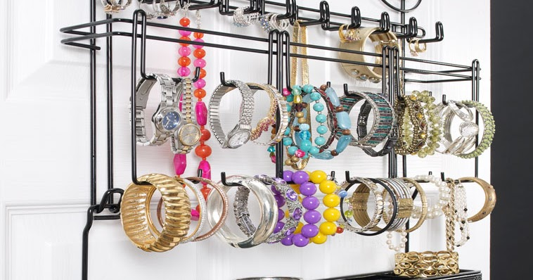 The Funky Monkey Longstem Overdoor Wall Jewelry Organizer Giveaway