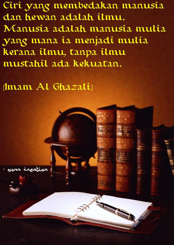 Kata Bijak Nasehat Imam Al Ghazali