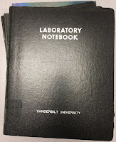 My research notebooks from graduate school.