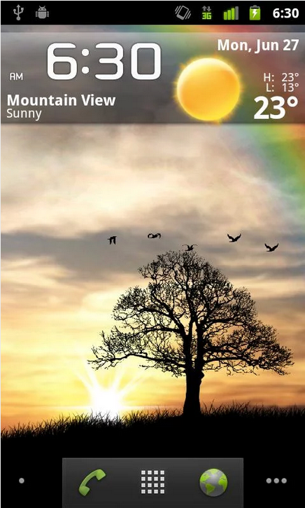Sun Rise Free Live Wallpaper_Android live wallpaper