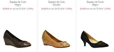 zapatos cuna tacón