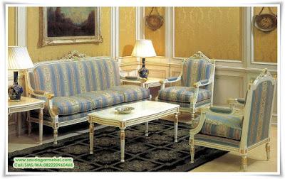 Set Sofa Victorian Styles, set kursi tamu minimalis jepara