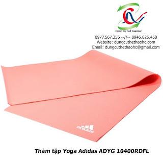 Thảm tập Yoga Adidas ADYG 10400RDFL