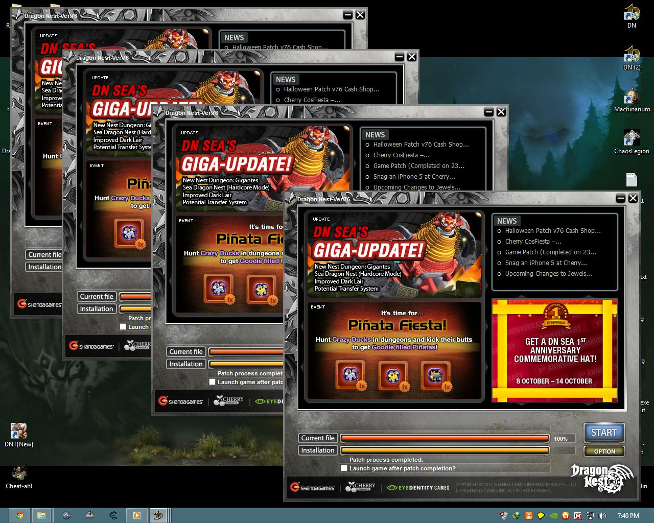 DRAGON NEST MULTI CLIENT & TRAINEER | GAME PREVIEW
