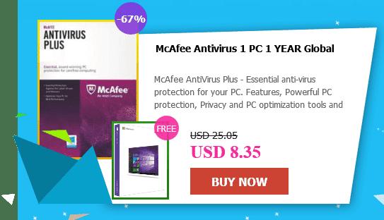 أحصل على مفتاح وندوز 10 برو عند شرائك مفاتيح برامج مكافحة فايروسات متعددة بسعر يصل إلى أقل من 10$