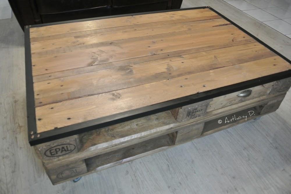 pellmell cr ations la table basse en palettes d 39 anthony. Black Bedroom Furniture Sets. Home Design Ideas