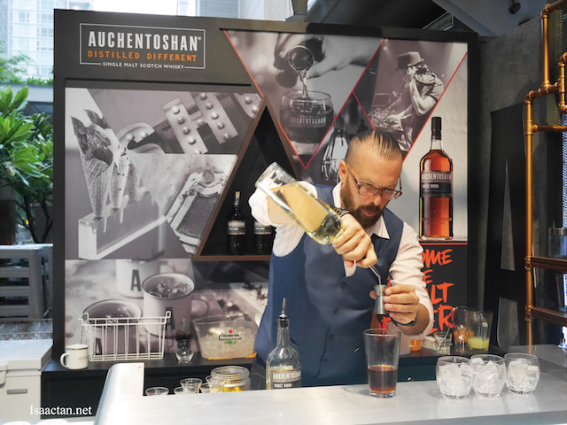 Auchentoshan Single Malt Whisky - 'The New Malt Order' Bar Takeover @ W.I.P Bangsar