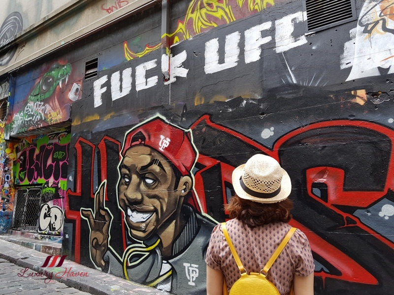 australia insta worthy spots hosier lane graffiti