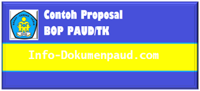Download Contoh Proposal BOP PAUD/TK 2017
