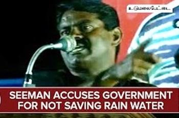 Seeman Accuses Government For Not Saving Rain Water – Thanthi Tv