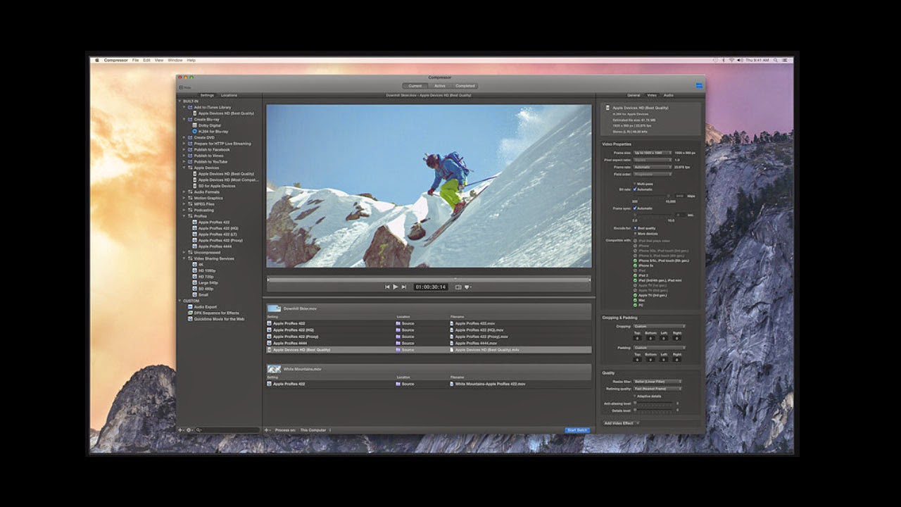 Seamless integration with Final Cut Pro