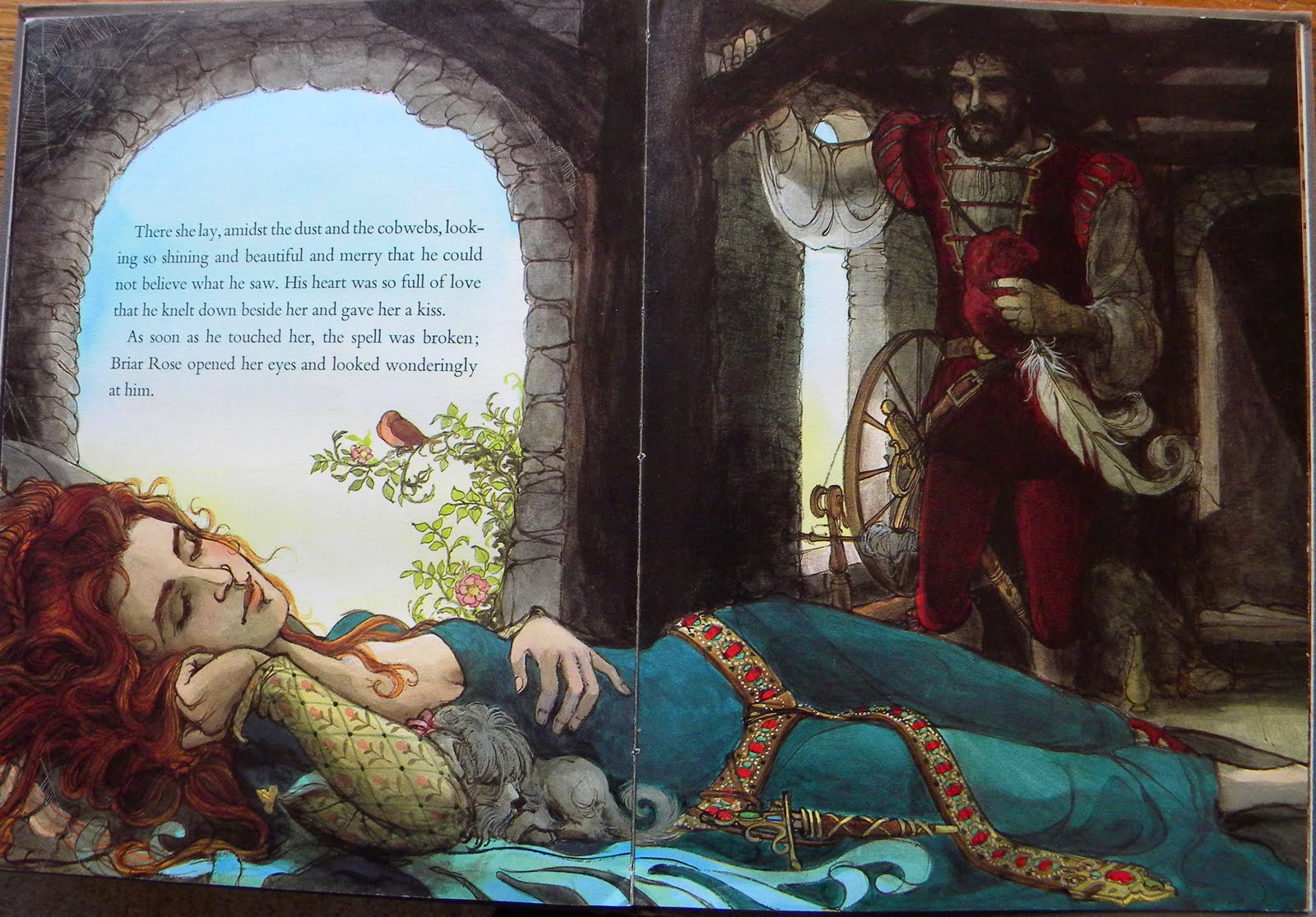 The classic sleeping beauty in jane yolens story of briar rose