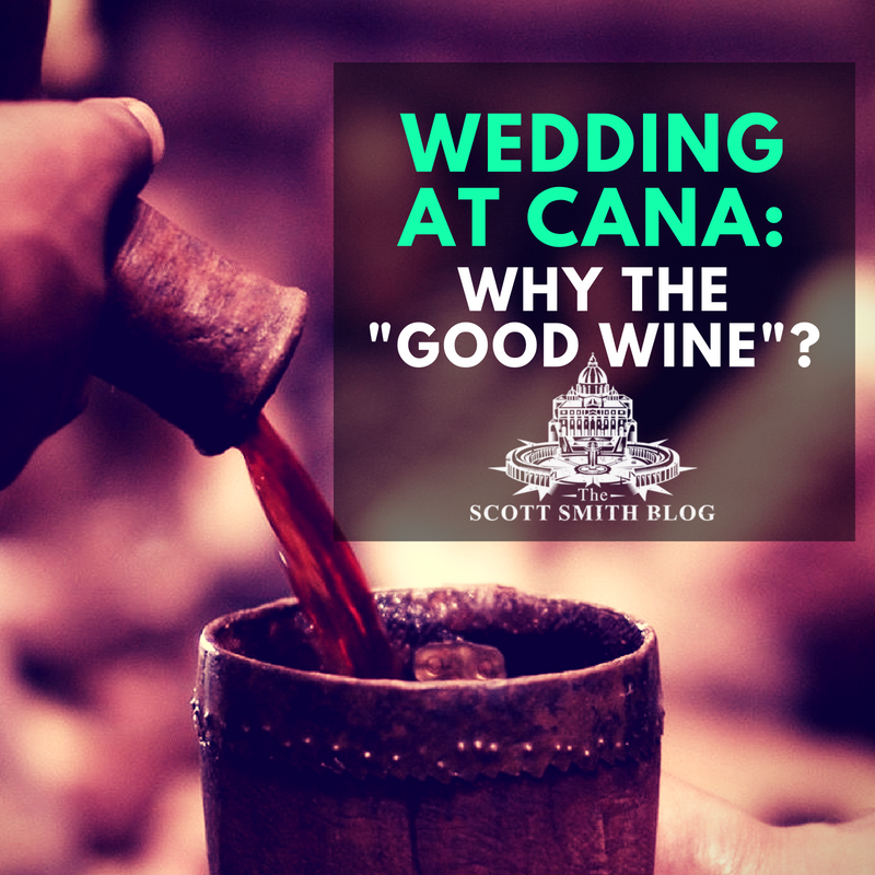 The Good Wine Of The Wedding At Cana What S Wine On The Lees