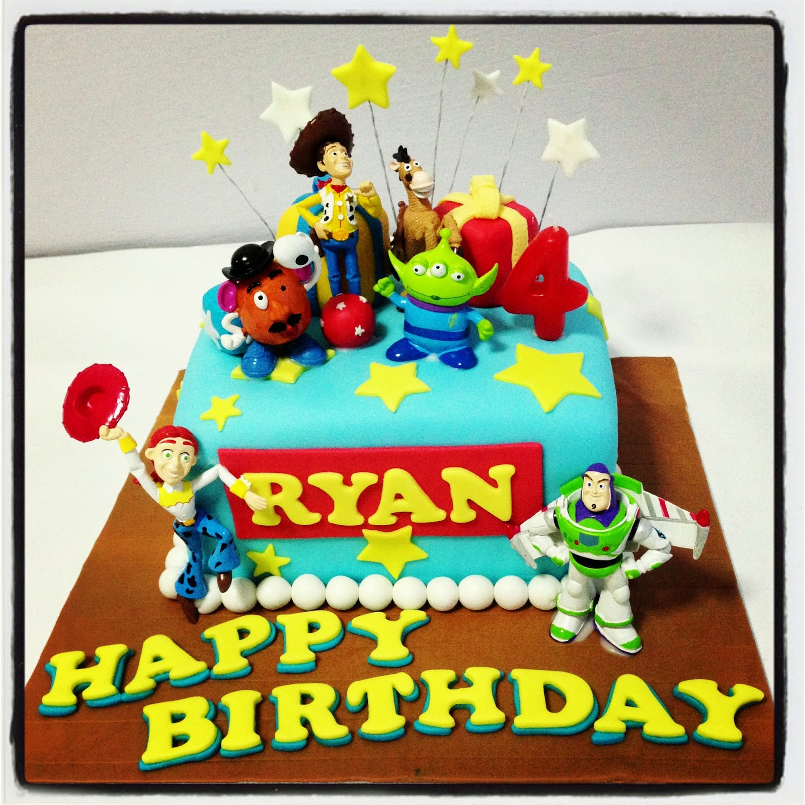 Happy Birthday Ryan Cake Images